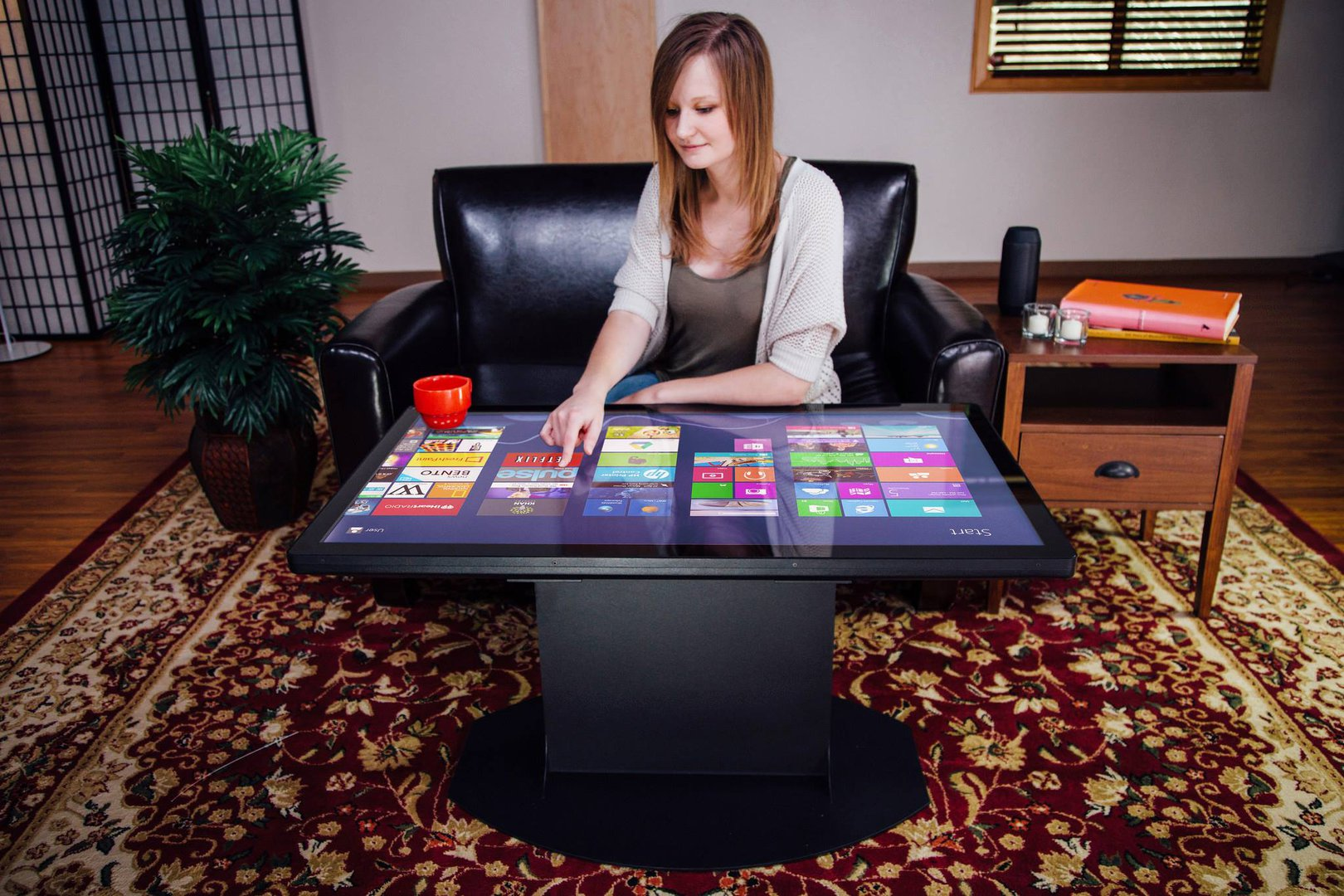 The Worlds First UHD K Multitouch Coffee Table Living Plugin - Multitouch coffee table