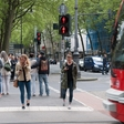 Pavement traffic lights installed for greater safety of distracted mobile phone users