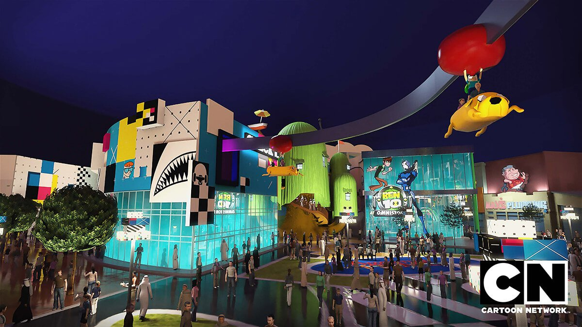 World 39 s largest indoor theme park opens end of august in for Indoor network design