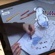 Disney's app makes 2D colouring characters wobble in 3D