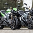 Electric sportbike Energica competes against WSBK Kawasaki & Lamborghini