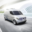 Mercedes-Benz Vision Van: the intelligent, interconnected electric vehicle for tomorrow