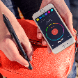 With CRONZY pen you can doodle in over 16 million colors - on the go!