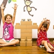 Edo, giant carboard bricks for giant fun!