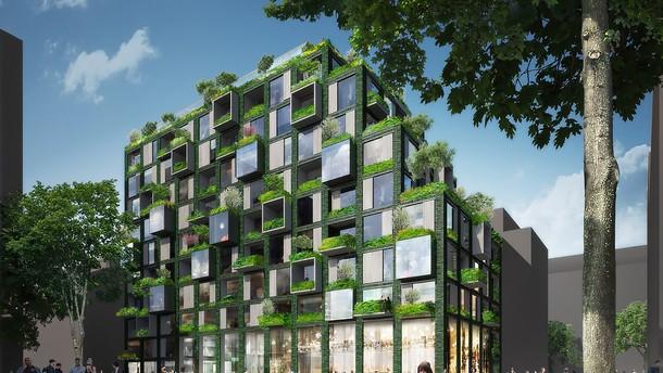 werkbundstadt design of the future living plugin. Black Bedroom Furniture Sets. Home Design Ideas