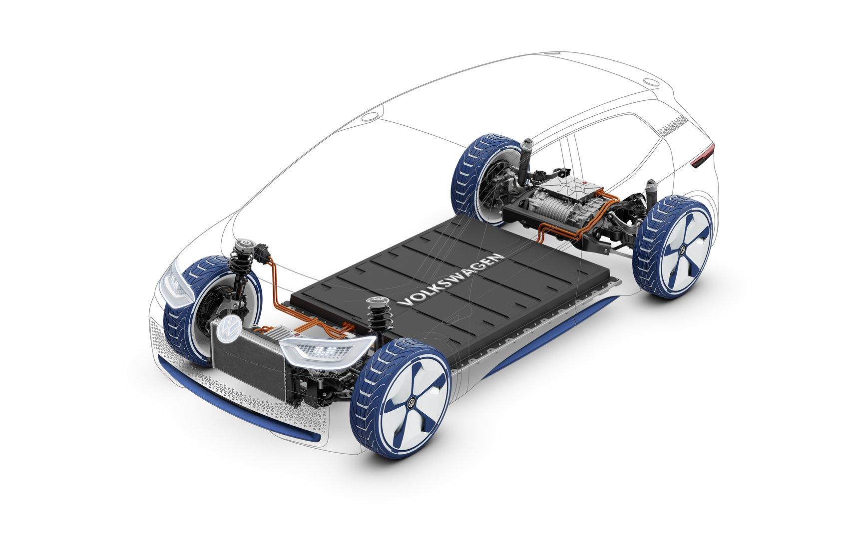 Volkswagen S Electric Future Concept I D Driving