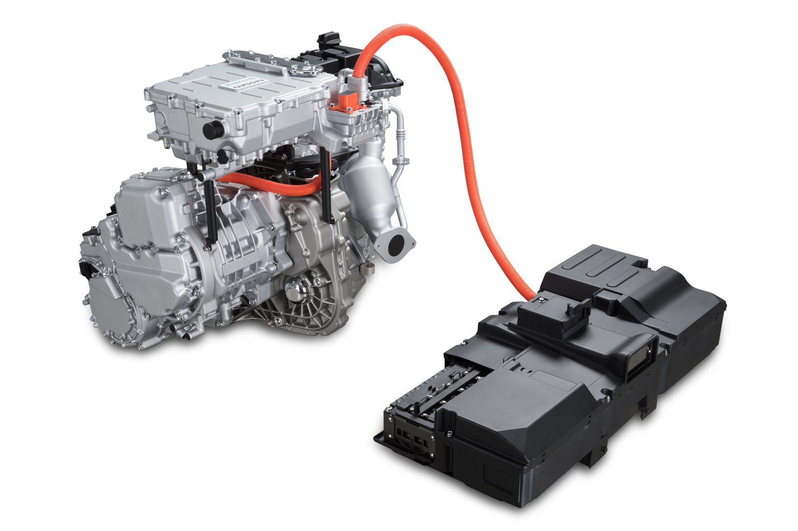Nissan With Its New Electric Motor Drivetrain Driving