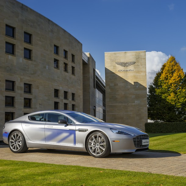 Aston Martin RapidE will be the battery-electric version of the British sporty limousine Rapide. With quite a fair amount of certainty, we predict it may arrive sometime in 2017.