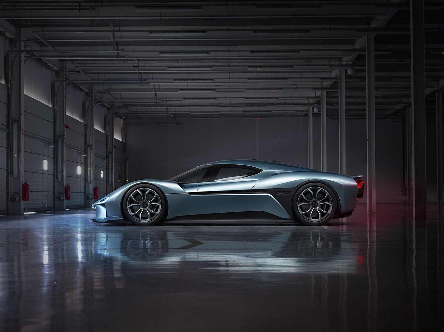The worlds fastest electric car -  The World S Fastest Nio Ep9 Side