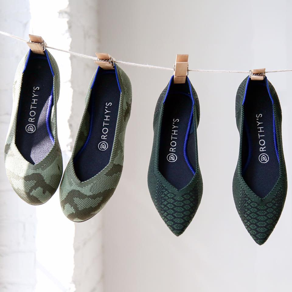 Rothy S The Environmentally Friendly Shoes Made Of Recycled Plastic