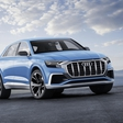 Audi presents its near-production Q8 concept SUV