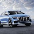 Audi presents its near-production Q8 concept SUV