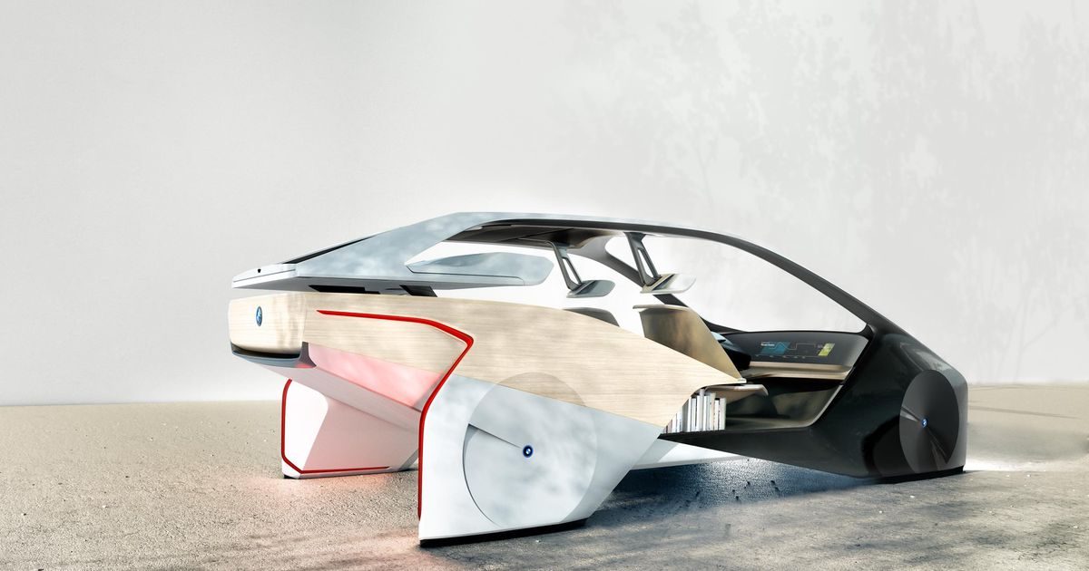 BMW's four-wheeled sculpture