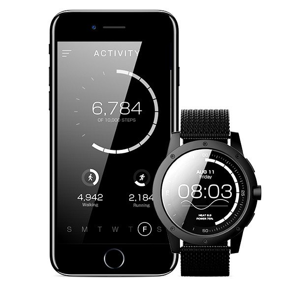Matrix powerwatch the first smartwatch powered by you living plugin for Matrix powerwatch