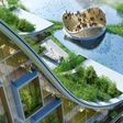 Vincent Callebaut's mesmerizing Brussels, dressed in green