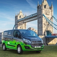 Ford's plug-in hybrid Transit Custom van is to be tested in London