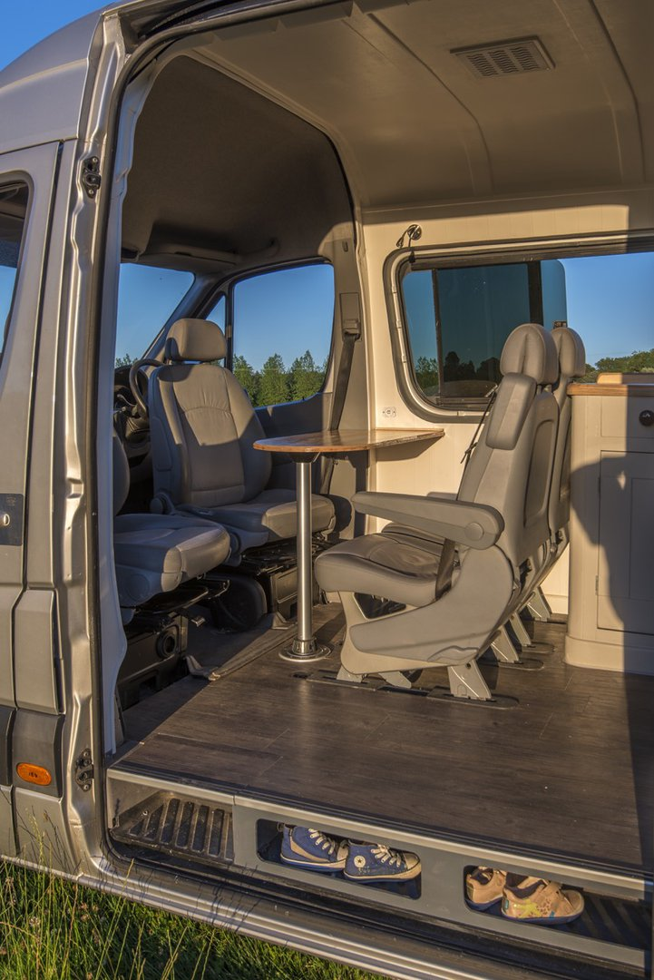 This Is How You Make A House Out Of A 2012 Mercedes