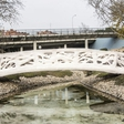 Madrid gets world's first 3D-printed footbridge