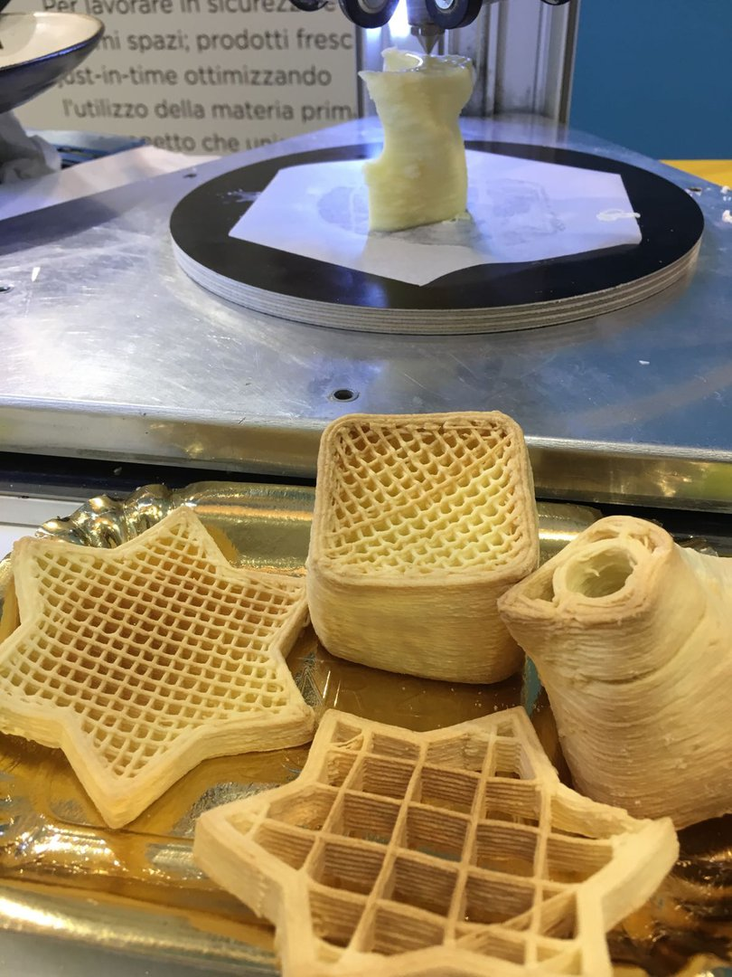 3D printed Food WASPS's choice is gluten free - Living ...