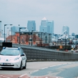 Autonomous Nissan Leaf on the streets of London