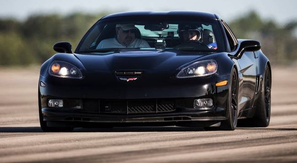 Electric Corvette Z06 sets new top-speed record
