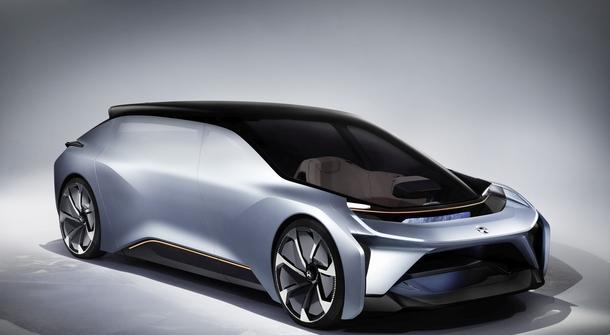 NIO EVE as the robotic automobile of future mobility