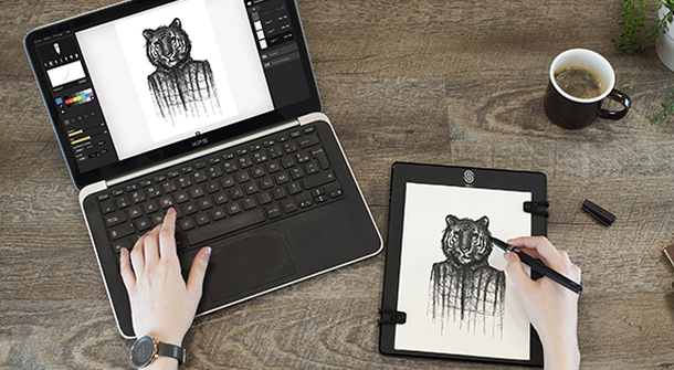 Meet the Slate, a drawing pad that revolutionizes your digital art