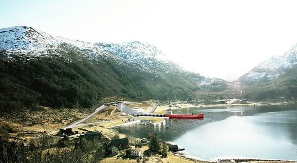 Norway is to build world's first ship tunnel