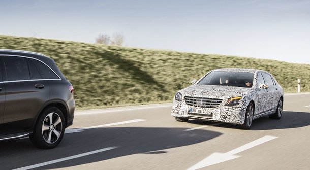 The new Mercedes-Benz S-Class is a major step towards autonomous driving