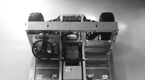An all-electric sport utility truck chassis revealed