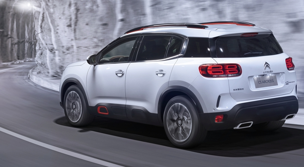 Citroën's new crossover with plug-in hybrid powetrain and an all-wheel drive