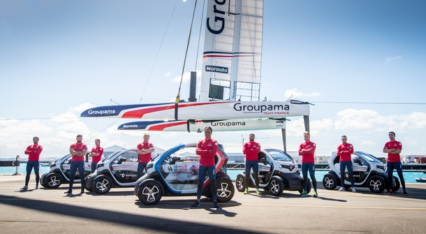 Renault Twizy heading to America's Cup