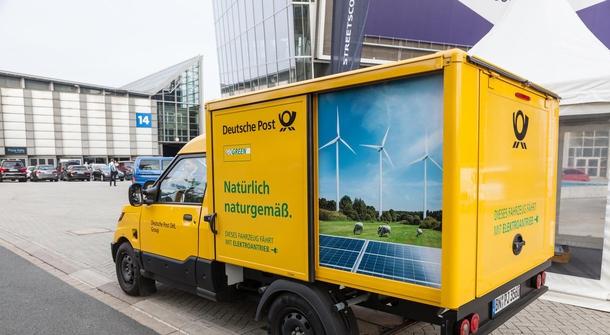 Deutsche Post sells 80 electric vans to Deutsche See