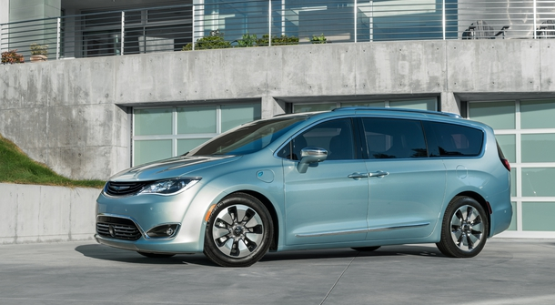 Chrysler Pacifica Hybrid is Family car of Texas
