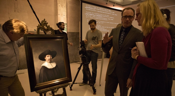 Art Analogue vs. Digital Rembrandt: The Resurrection