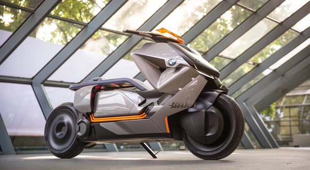 BMW Motorrad Concept Link is the new zero-emissions scooter for an intelligent, integrated and perfectly intuitive city drive!