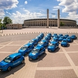 It's electrifying! Renault Zoes storm into Berlin!