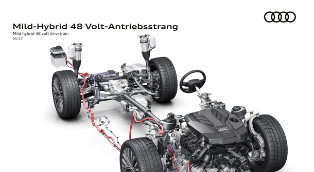An all-new Audi A8 to debut with mild hybrid technology
