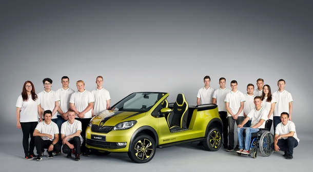 Škoda's electric buggy is called Element