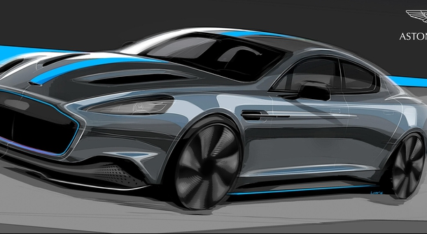 Aston Martin confirmed production of electric Rapid