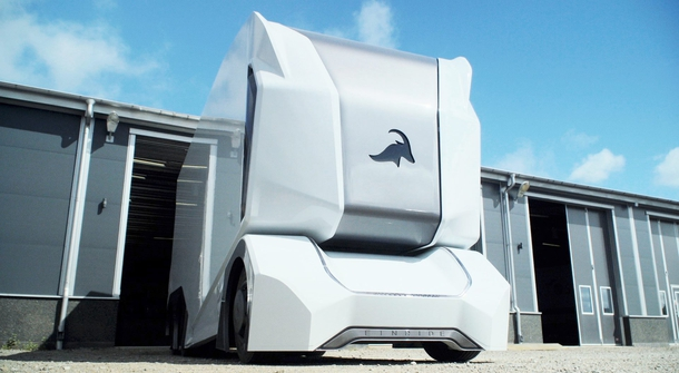 Driving with no windows: Einride T-Pod is a prototype of an electric, self-driving truck