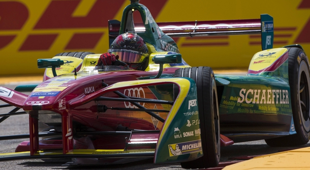 Audi becomes the first German automobile manufacturer to race in Formula E