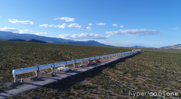Hyperloop successfully tested in Nevada desert
