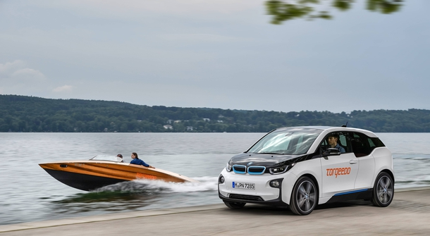 BMW i on the water