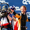 Jean Eric Vergne celebrated his first victory in Formula E