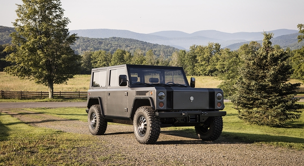 Bollinger B1 electric sport utility truck revealed