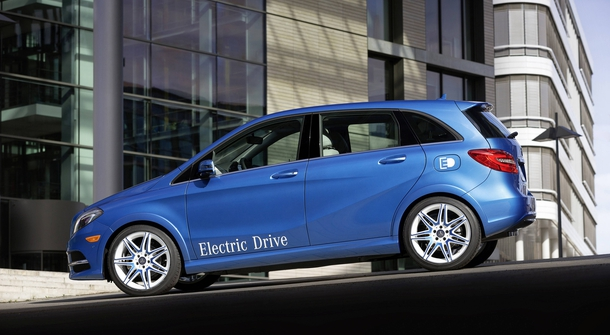 Mercedes-Benz says farewell to B-class Electric Drive