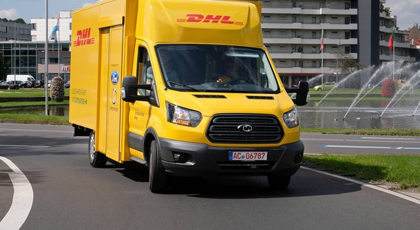 Ford and DHL are broadening e-delivery possibilities with a StreetScooter WORK XL electric truck
