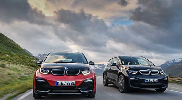 BMW i3 refreshed and with the new sportier version