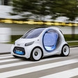 Smart Vision EQ ForTwo concept is a vision of future car sharing